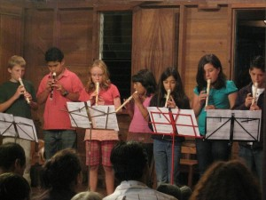 Christmas celebrations at Monteverde Friends School in Costa Rica