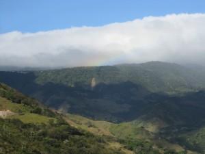 Georgous mountain views from Monteverde, Costa Rica