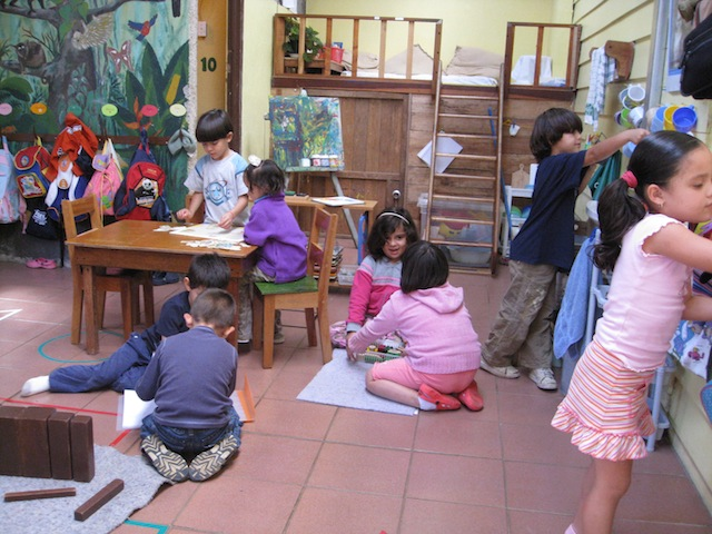 Students in kindergarten, prepa and pre-kinder enjoy Monteverde Friends School in Costa Rica