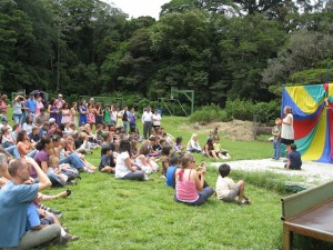 Theatre and drama program mini-course at Monteverde Friends School in Costa Rica