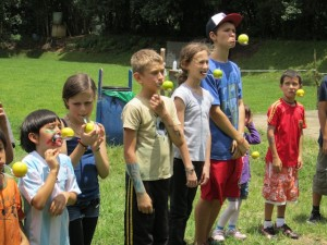 Childrens Day celebration at Monteverde Friends School in Costa Rica
