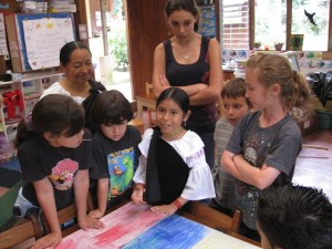 Culture Day celebration and lessons at Monteverde Friends School in Costa Rica