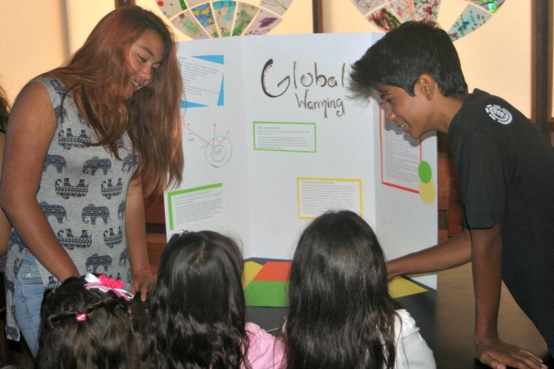 Ryan and Gudari Science fair