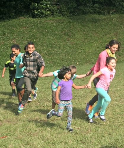 Summer camp in Costa Rica has lots of games