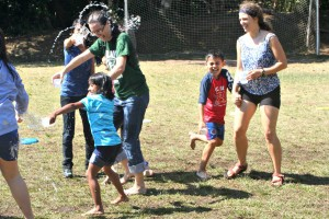 Summer camp has water fun in Costa Rica