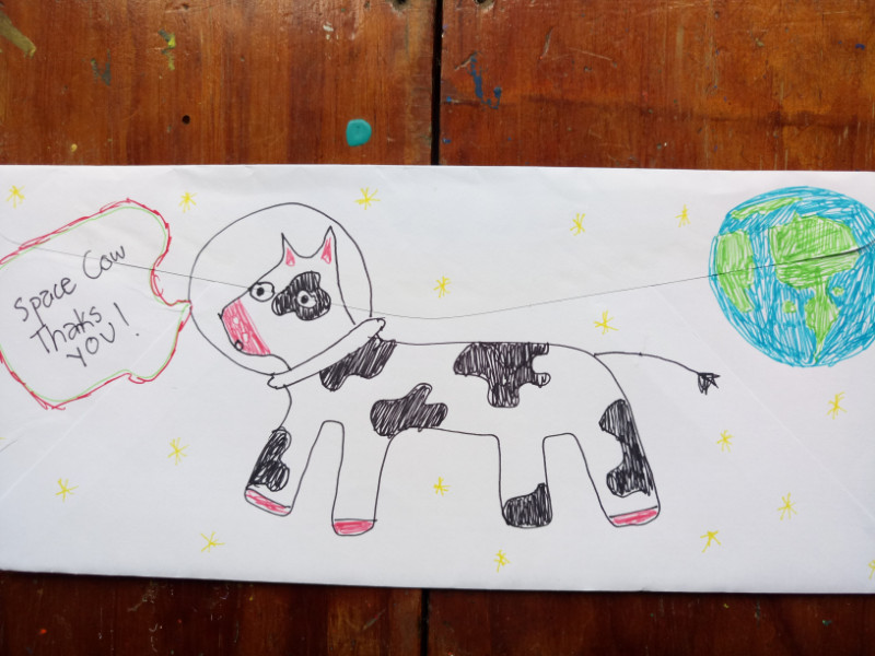 Space Cow Thanks You