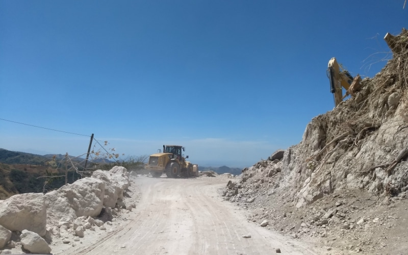 Monteverde road construction